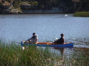 Canoeing at Dunns Swamp copy